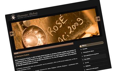 Domaine Dubois, Grands vins de Bourgogne