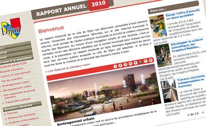 Le rapport annuel 2010 de la ville de Dijon est en ligne