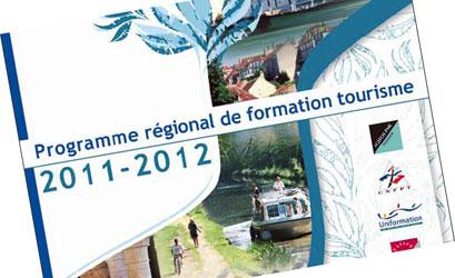Programme Régional de Formation Tourisme 2011-2012