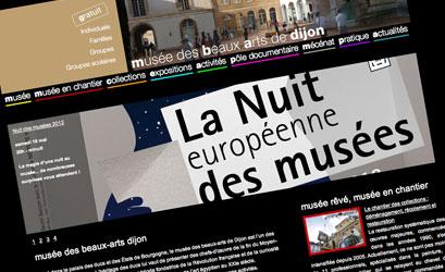 Nouveau site Internet pour le musée des Beaux-Arts de Dijon