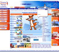 Mise en ligne de la nouvelle version de Location Vacances Express