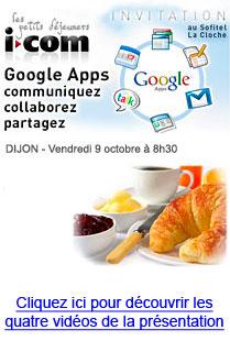 Petit déjeuner Google Apps au Sofitel Dijon La Cloche