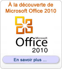Formation Microsoft Office 2010
