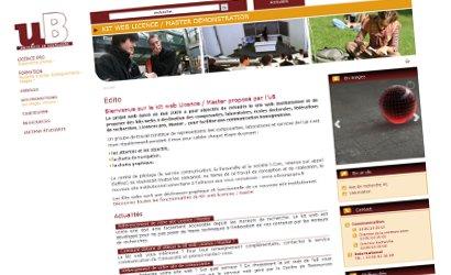 Nouveaux sites Internet pour 5 composantes de l'université de Bourgogne