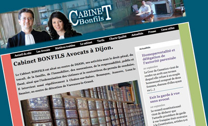Site Internet Avocat Bonfils