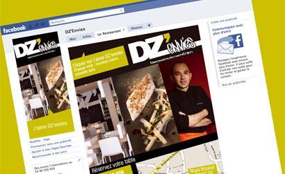 Lancement officiel de la page facebook DZ'envies