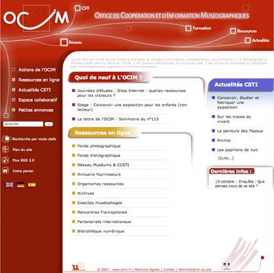 """L'OCIM lance sa lettre d'information électronique, """"OCIM infos"""""""