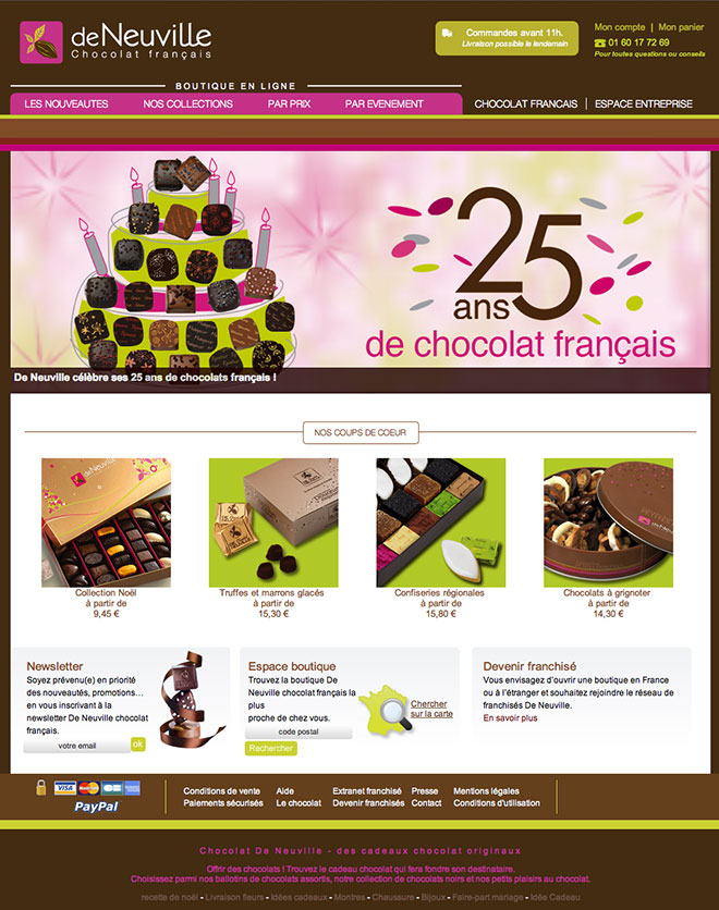 Site Internet de Neuville
