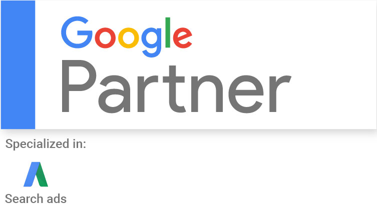 Certification Google Partner specialize in search ads