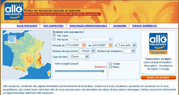 Site Allo Vacances