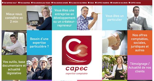Accueil Internet CAPEC