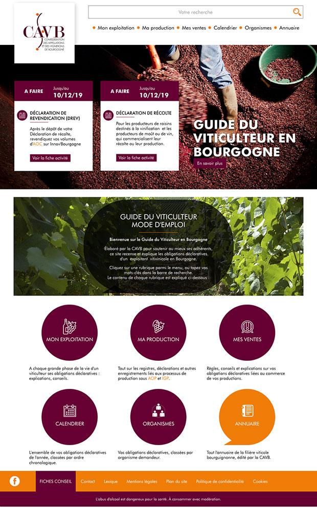 accueil guide viticulteur