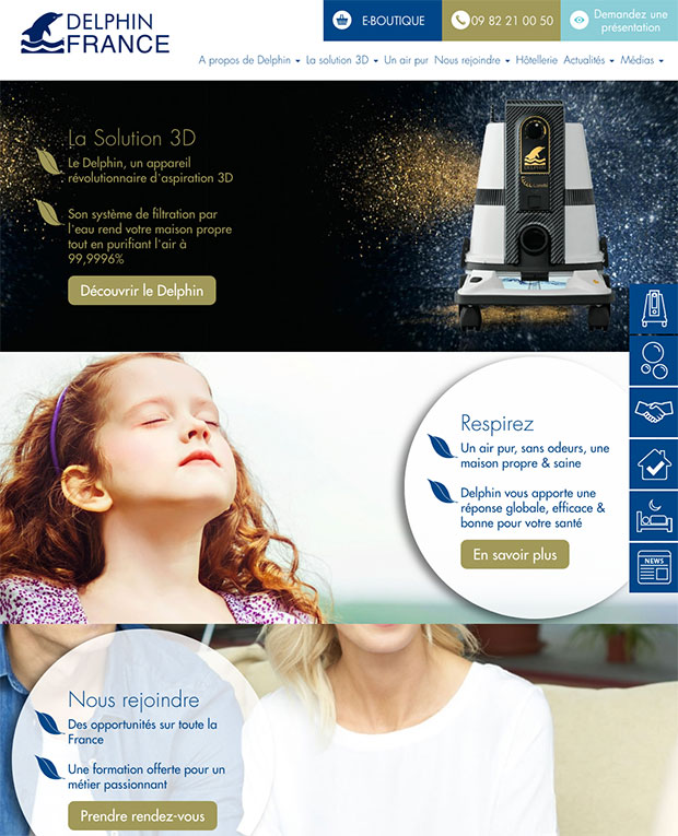 home page delphin france