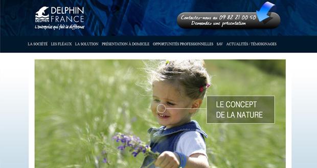 Delphin France : un nouveau site
