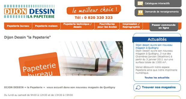 Dijon-Dessin : un site Web