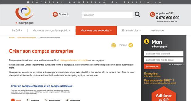 site internet e-bourgogne