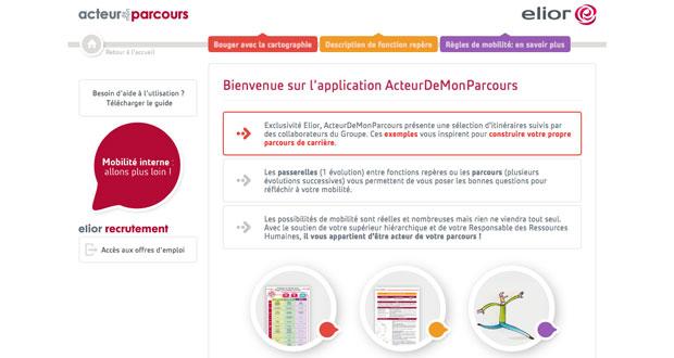 application web Elior