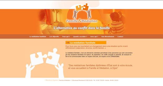 site Famille & Médiation