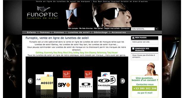 Refonte du site de FunOptic