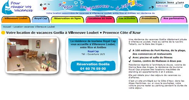 20 nouveaux sites en ligne pour Goélia