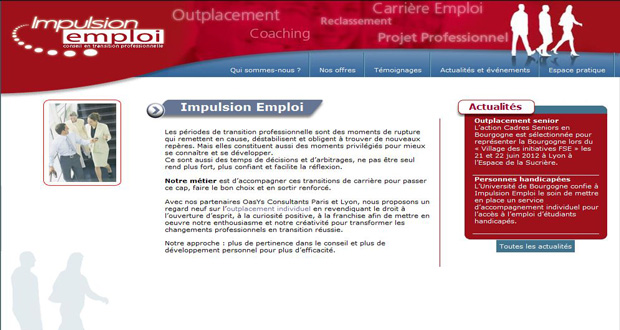 site Impulsion Emploi
