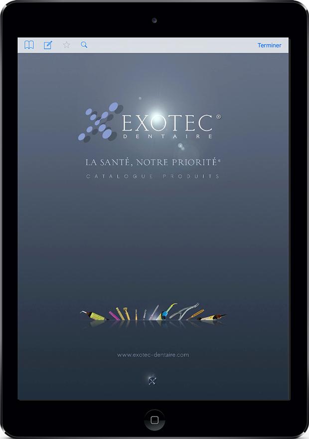 Application iPad Exotec