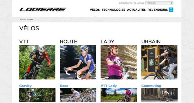 Cycles Lapierre gamme 2015