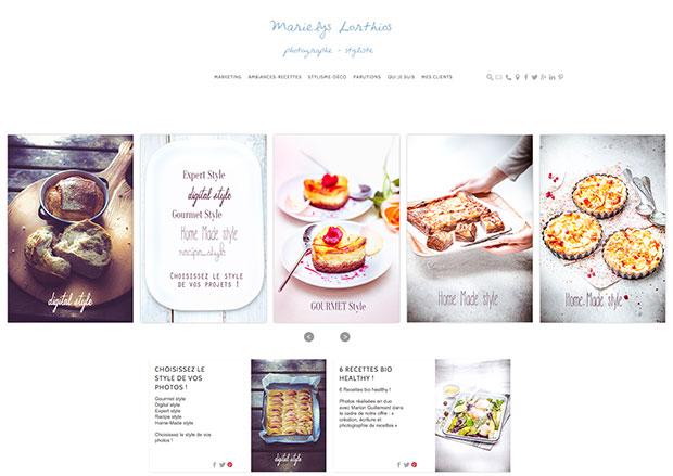 accueil Internet de Marielys Lorthios
