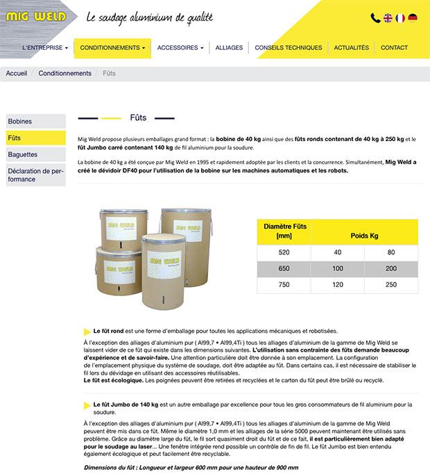 site internet mig-weld