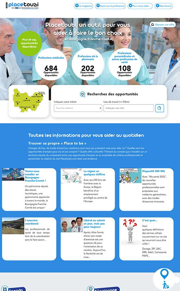 site internet placetoubi