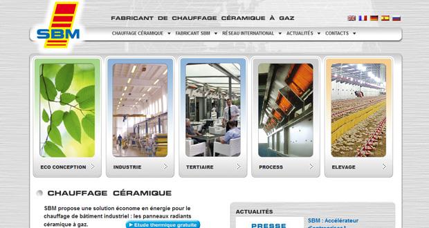 Nouvelle identité visuelle, site Internet en trois langues, Responsive Web Design