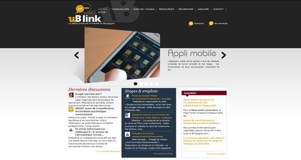uB-link : premier prix pour le réseau social !