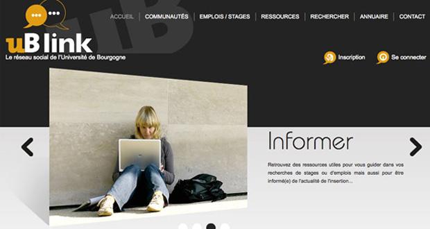uB link : le réseau social