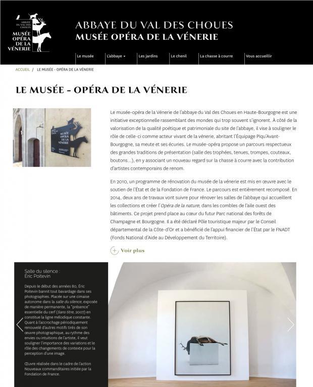 musée-opéra de la vénerie
