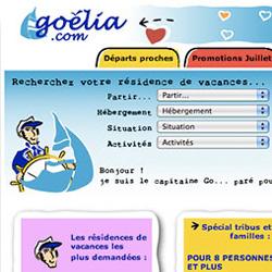 Refonte du site Internet Goélia