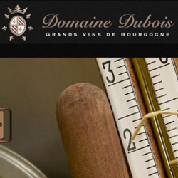 site internet Domaine Dubois