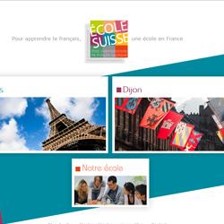 Refonte du site Internet de l'École Suisse