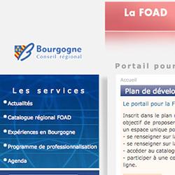portail de la FOAD Bourgogne