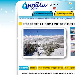 sites en ligne pour Goélia