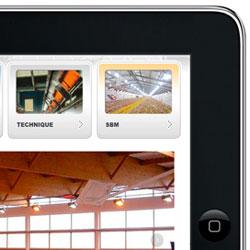 présentation iPad pour SBM