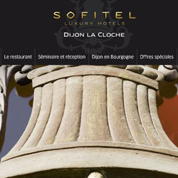 La cloche Dijon sofitel illustration
