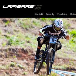 Sites Internet Lapierre internationaux