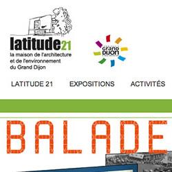 site Internet Latitude21