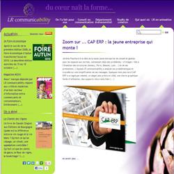 Site pour LR Communicability