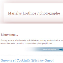 site Internet de Marielys Lorthios