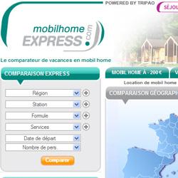 site Internet de Mobil Home Express