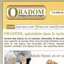 site web oradom