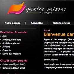 Site Internet Quatre Saisons Voyages
