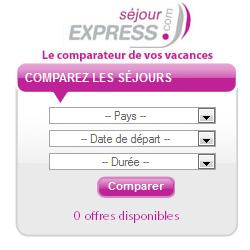 Widget Séjour Express