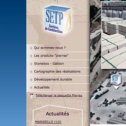 Refonte du site Internet de la SETP